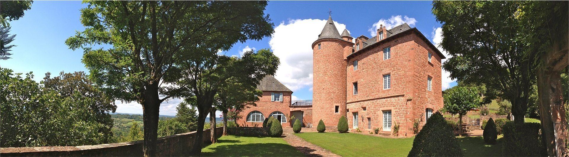 Château de Marsac en Corrèze