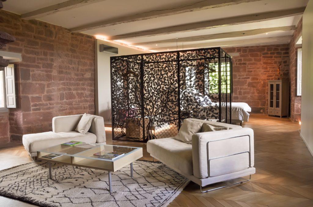 Suite Chêne du château de Marsac : confort et élégance