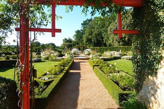 Jardin d'Eyrignac en Dordogne