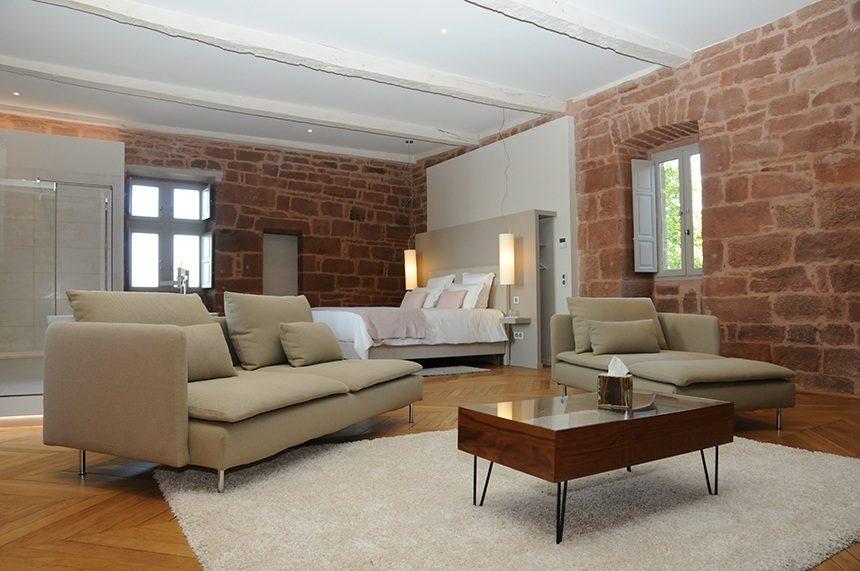 Projet de chambres d'hôtes au château de Marsac
