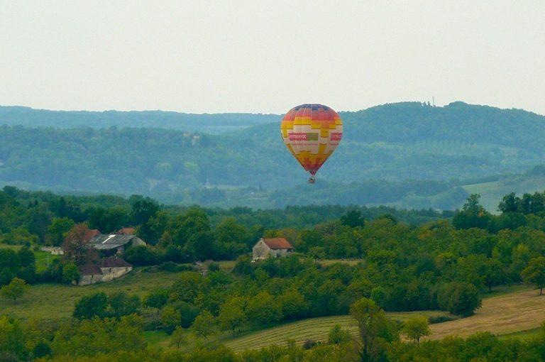 Vol en montgolfière - Offre spéciale du Château de Marsac