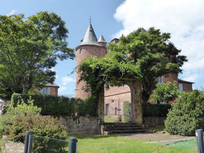 Château de Marsac à Meyssac en Corrèze